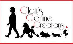 Clair's Canine Creations – Clair Chapman Business Logo